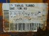 Etichetta fusto ravvicinata